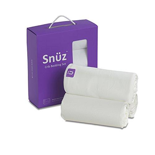 Snuz Beistellbett Bettwäsche-Set (füz SruzPod, Beistellbetten und Wiegen), weiß