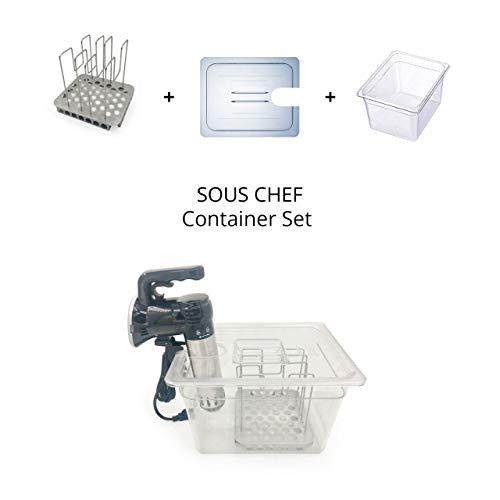 Preisvergleich Produktbild La Vague Sous-Chef Sous Vide Container Set