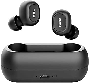 Qcy T1 True Wireless Earbuds with Uncapped Charging Case