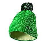 Skoda 000084303K - Gorro de Invierno con pompón, Color Verde