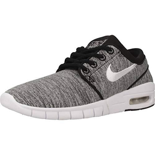 Nike Jungen Stefan Janoski Max (gs) Fitnessschuhe, Schwarz (Black/White 008), 36 EU