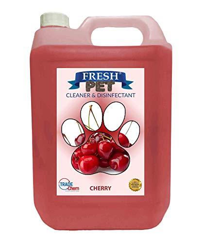 Limpiador y desinfectante moderno para jaulas de perros y gatos. Mata el 99,99% de las bacterias y elimina el olor