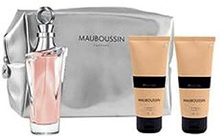Mauboussin Pour Elle Gift Set for Women Eau de Parfum 100ml + Shower Gel 100ml + Body Lotion 100ml + Pouch