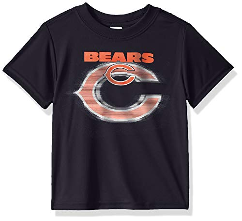 NFL Chicago Bears Baby-Boys Short Sleeve Solid Logo Tee Shirt, Team Color, 18M