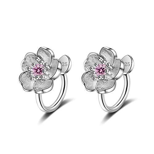 Peach Flower Earrings Cherry Blossom Earrings Fashion Earrings Classic Earrings Hypoallergenic Earrings Earrings for Graduation Sleepers Earrings