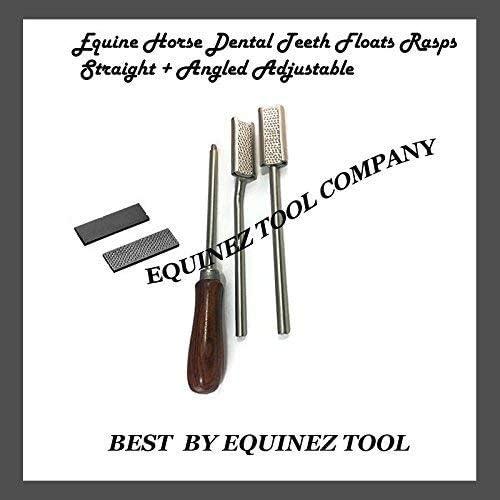 Equine supreme Horse Dental Teeth Floats + Angled Straight Austin Mall Rasps Adjusta