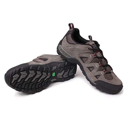 Karrimor Mens Summit Walking Shoes Non Waterproof Lace Up Breathable Mesh Panels Charcoal UK 10 (45)