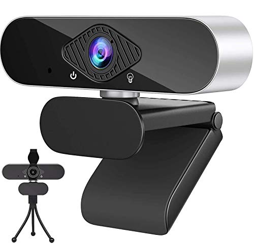 1080P Full HD Webcam for PC with Webcam Cover USB Camera for PC Desktop...