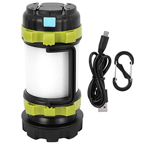CjnJX-Vases Luz Que acampa de la Carga del USB, luz de Emergencia Brillante Fuerte de la Linterna del LED Que Hace Excursionismo, se Puede Colgar