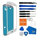 MMOBIEL Kit de Reemplazo de Pantalla Táctil Compatible con Samsung Galaxy S3 Mini i8190 Series (Blanco) Incluye Pinzas/Cinta Adhesiva/Kit de Herramientas/Limpiador/Alambre/Manual de Instrucciones