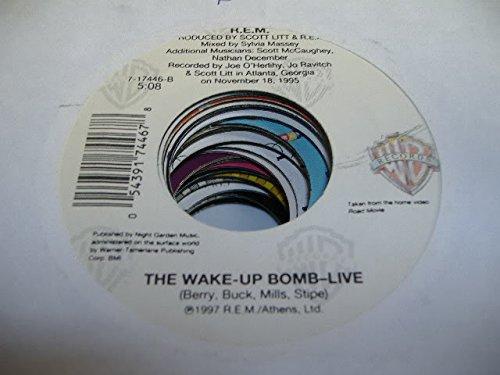 R.E.M. 45 RPM The Wake-Up Bomb / Electorlite