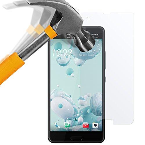 HTC U Ultra Film Protection en Verre trempé 9H écran Protecteur Ultra résistant Glass - moodie Screen Protector pour HTC U Ultra