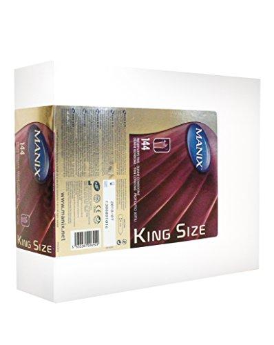 Manix King Size Kondome – Mega Pack of 144