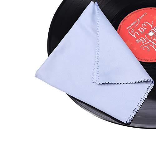 Gartopvoiz - Toalla de Microfibra antiestática para LP Record, 6 Unidades, 30,5 x 30,5 cm