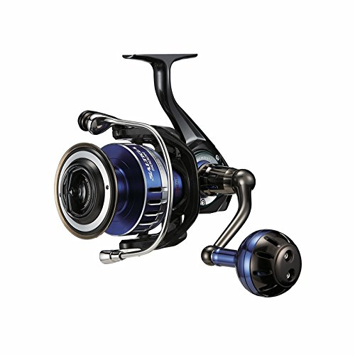 Daiwa SALTIGA5000H Saltwater Spinning Fishing Reel, 17-20 lb, Blue