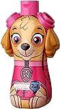 Paw Patrol 2in1 Duschgel & Shampoo − 3D Figur Skye, Geschenk für Kinder (400ml)