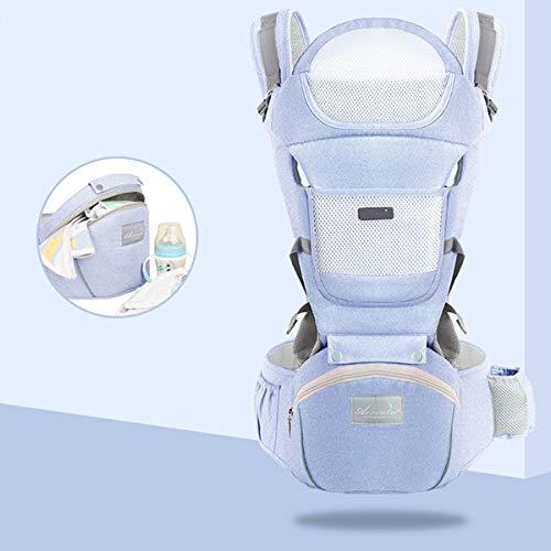 ZEHYRFGK Baby Hip Seat Carrier Ergonomisch ontworpen - Baby Peuter Taille Kruk met Verstelbare Band Gesp Pocket Zachte Inner Enorme Opslag