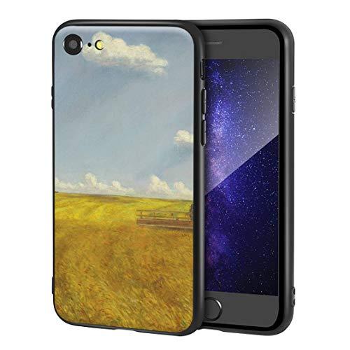 Berkin Arts John Steuart Curry Custodia per iPhone SE(2020)/iPhone 7/8/per Cellulare Arti/Stampa giclée a UV sulla Cover del Telefono(Trilla)