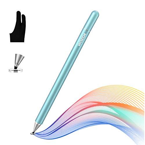 WOEOA Lápiz Stylus Capacitivo Universal, Stylus Pen 2 in 1 Bolígrafos Digitales...