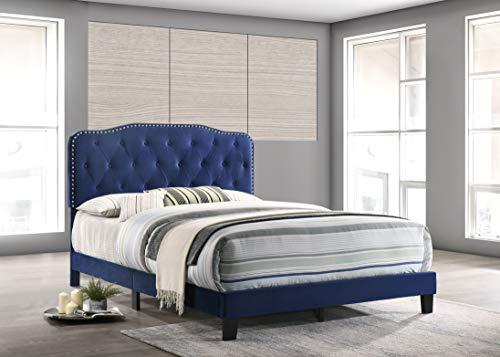 Best Quality Furniture Platform, Full, Navy Blue