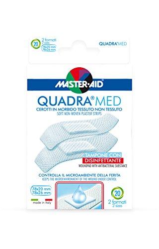 Master Aid Quadra Med Strip, 2 Formati - 1 Prodotto