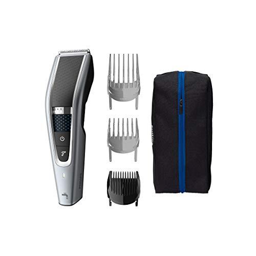 Philips Hairclipper series 5000 Cortapelos lavable HC5630/15 Tecnología Trim-n-Flow PRO 28 posiciones de longitud (0.5-28mm) 90min de uso sin cable/1h de carga 100% lavable