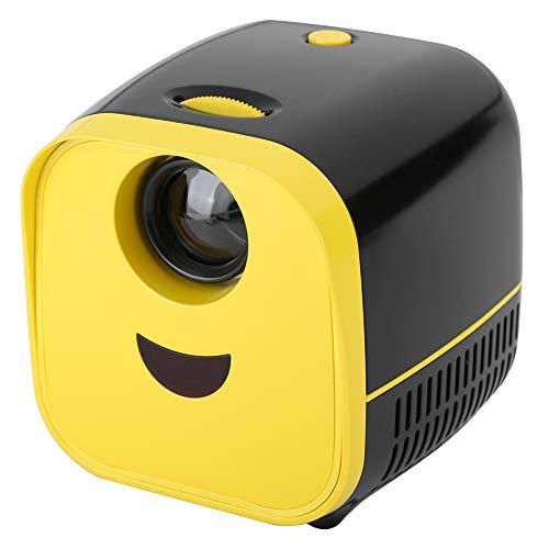Proyector en casa, 480 x 320P resolución estéreo altavoz proyector, 2000 LM para cine en casa, oficina, Meetig uso en el hogar y (regulación británica)
