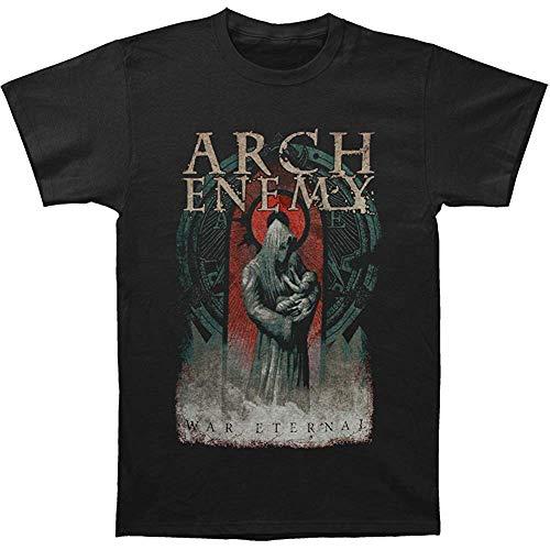 Duying Arch Enemy Men's War Eternal 2014 Dates T-Shirt Black(Size:XL