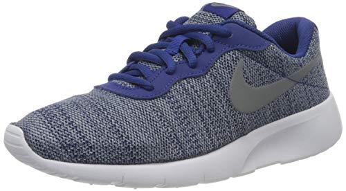 Nike Tanjun (GS), Zapatillas Unisex Niños, Azul (Blau/weiß Blau/weiß), 38.5 EU