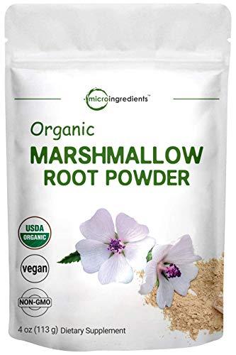 Pure USDA Organic Marshmallow Root Powder, 4...