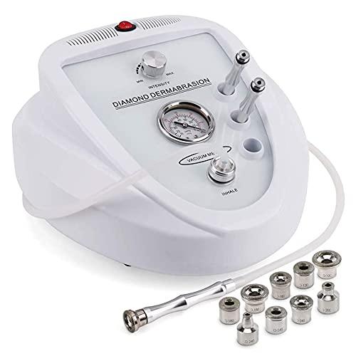 Máquina de Microdermabrasion de diamante Dermabrasion profesional uso en el hogar Equipo de cuidado de piel facial Dispositivo de salón de belleza facial