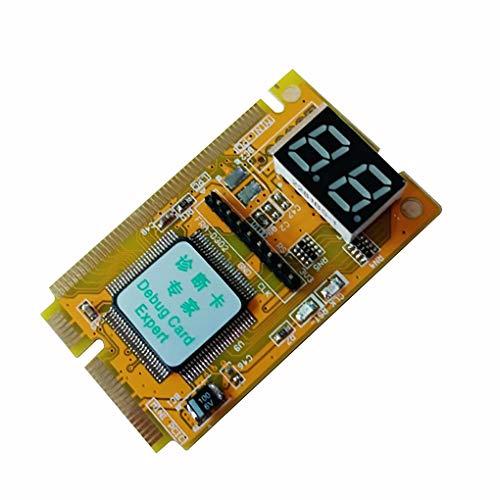 Mingtongli 3 in 1 2-Digit Mini PCI/PCI-E LPC Tester Diagnostics Debug Card Adapter Analyzer Notebook Laptop Computer
