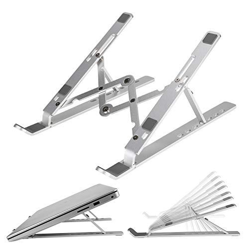 ANSUG Supporto Regolabile per Laptop(7Angoli),Stand Scrivania Portatile Multifunzione Support in Alluminio per Tutti Modelli di Laptops/Tablet sul Mercato con Custodia