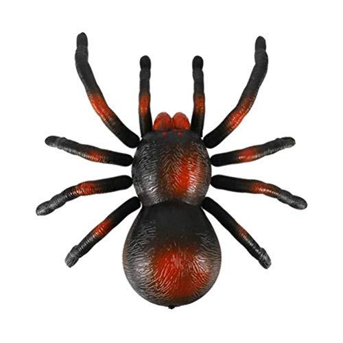 STOBOK Elektrische Fernbedienung Spielzeug Erschreckend Beweglichen Spinnenspiel Simulation Insektenstütze für Kinder Kinder ohne Batterie