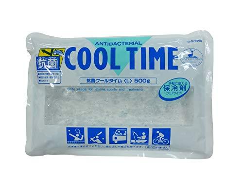 キャプテンスタッグ(CAPTAIN STAG) 保冷剤 抗菌クールタイム 保冷効力約8~10時間 Lサイズ 500g M-8998