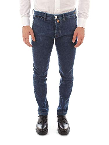 Luxury Fashion | Jacob Cohen Heren JCU04LIONGCOMF19907 Donkerblauw Elasthaan Jeans | Seizoen Outlet