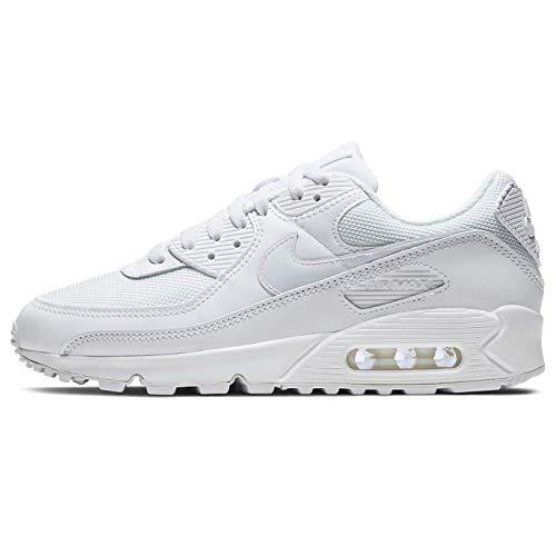 Nike Damen AIR MAX 90 Twist Women's Shoe Laufschuh, White, 40.5 EU