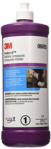 3M Perfect-It Rubbing Compound, 06085, 1 qt (32 fl oz/946 mL)