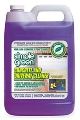 Simple Green - SMP18202CT 2310000418202 Concrete/Driveway Phosphate and Bleach-Free Pressure Washer Cleaner in 1 gal Bottles (Pack of 4)