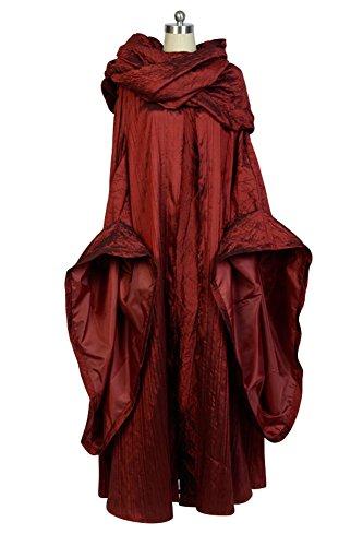 Disfraz cosplay de Juego de Tronos: Melisandre.
