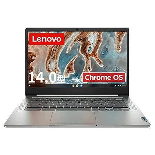 Lenovo Chromebook IdeaPad Slim 360 ノートパソコン(14型FHD TN液晶/日本語キーボード/MediaTek MT8183/4G...