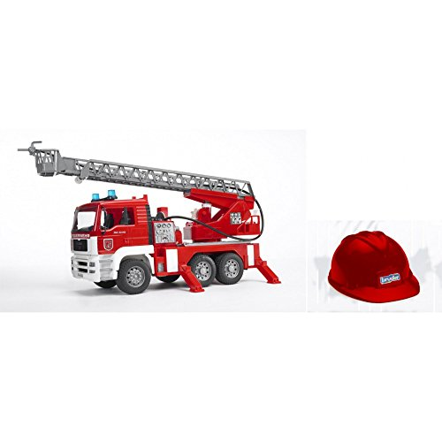 bruder Man Camion Feuerwehrmann