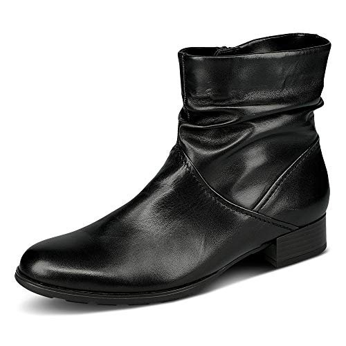 Gabor Botines elegantes para mujer, plantilla intercambiable, suela Hovercraft, mejor ajuste., color Negro, talla 35.5 EU