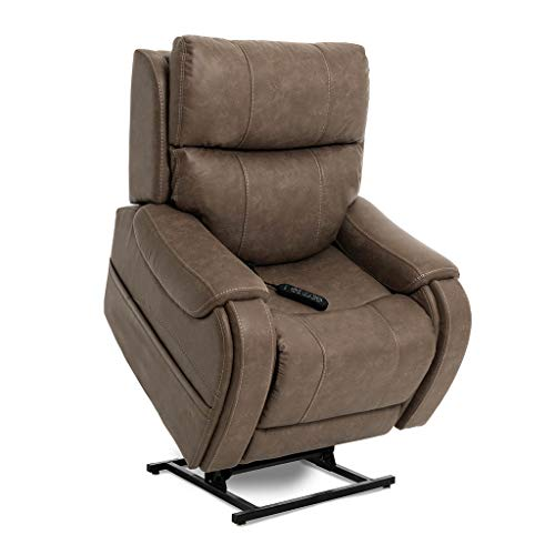 Pride ViVaLift Atlas V.2 Infinite Lay Flat Lift Chair (PLR985M) with Inside Delivery and Setup Option (Badlands Mushroom, Inside Delivery and Setup)