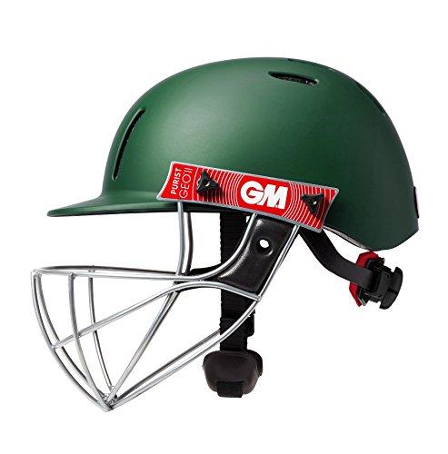 Gunn & Moore Kinder Purist Geo II Helmet Cricket-Helm, grün, Small JOne sizeor