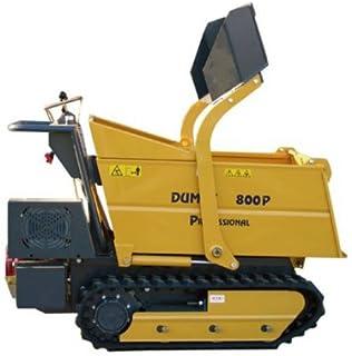 Dumpy 800P Load - Transportador Dumper sobre orugas para Honda GX390 (800 kg)