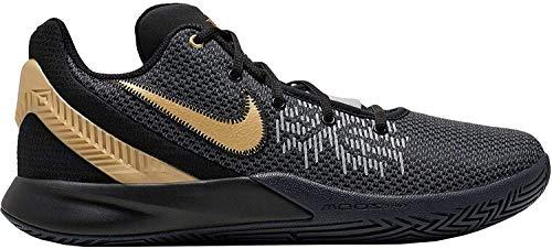Nike Kyrie Flytrap II, Zapatillas de Baloncesto para Hombre, Multicolor (Black/Metallic Gold/Anthracite 000), 42 EU