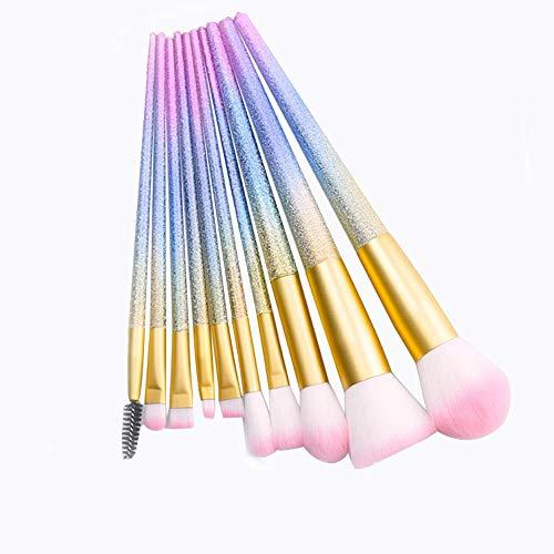 Brosses Pinceaux de Maquillage Professionnel Set Make Up Brush Tools Kit Eye Liner Fard à paupières Eye Brush Maquillage Maquillage pour Les Femmes (Color : 02, Size : Libre)