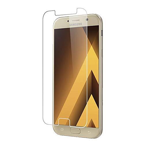 Cabling - Protector de pantalla de cristal templado para Samsung Galaxy A5 2017, ultra transparente, ultrarresistente, irrompible, invisible – A5 (2017) A520