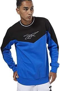 Reebok Men Lf Crew Sweatshirts Blue, XS
